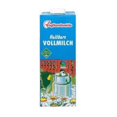 Vogtlandweide H-Vollmilch 3,5% Fett  1 Liter