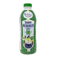 Kohrener Bauern Weidemilch haltbar 3,8% Fett 1 Liter, Bio