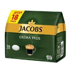 Jacobs Crema Röstkaffee 10 x 18 Pads  UTZ zertifiziert