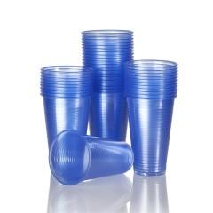 Trinkbecher blau 180ml 100 Stück Plastik