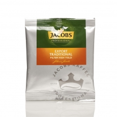 Jacobs Professional Export Traditional Filterkaffee  90 x 55g Gemahlen, Portionskaffee