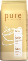 Tchibo Pure Fine Selection White 10 x 1kg weiße Instant-Schokolade