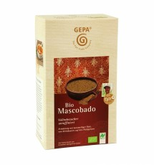 Gepa Bio Mascobado Vollrohrzucker  1kg, Bio Fairtrade, unraffiniert