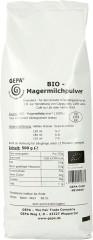 Gepa Bio Magermilchpulver 500g Instant-Milchpulver, Bio Fairtrade