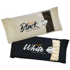 Hellma Feines Gebäck Black & White Kekse 200 x 5,6g