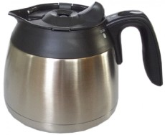 Serviso Thermoskanne Edelstahl 1 Liter