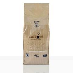 Gepa Café Sí Cafe Crema Milano 4 x 1kg Ganze Bohne, Bio Fairtrade