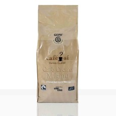 Gepa Cafe Si Cafe Crema Milano  1kg Ganze Bohne, Bio Fairtrade