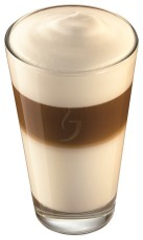 Jacobs Latte-Macchiato-Glas 280ml  12 Gläser