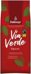 Dallmayr Via Verde Espresso 6  x 1kg  Ganze Bohne, Bio Fairtrade
