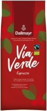 Dallmayr Via Verde Espresso 1kg Ganze Bohne, Bio Fairtrade