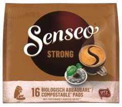 Senseo Strong Röstkaffee 16 Pads UTZ zertifiziert