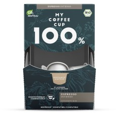 My-Cups Mega-Box Espresso Intenso  100 Kapseln, Bio, 0% Alu