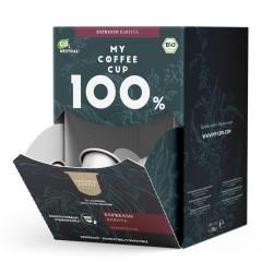 My-Cups Mega-Box Espresso Barista 100 Kapseln, Bio, 0% Alu