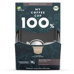 My-Cups Mega-Box Ristretto Italiano  100 Kapseln, Bio, 0% Alu