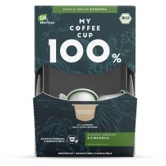 My-Cups Mega-Box Single Origin Ethiopia 100 Kapseln, Bio, 0% Alu
