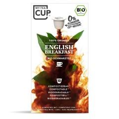 My-Cups Master-Box English Breakfast Schwarzer Tee 10 x 10 Kapseln, Bio, 0% Alu