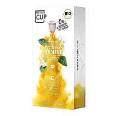My-Cups Master-Box Princess Jasmine Grüner Tee 10 x 10 Kapseln, Bio, 0% Alu