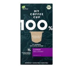 My-Cups Box Lungo Bellissimo 10 Kapseln, Bio, 0% Aluminium