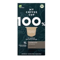 My-Cups Box Espresso Intenso  10 Kapseln, Bio, 0% Alu