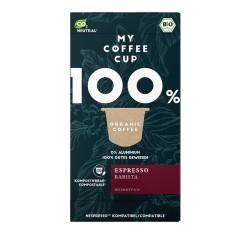 My-Cups Box Espresso Barista 10 Kapseln, Bio, 0% Alu