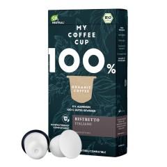 My-Cups Box Ristretto Italiano  10 Kapseln, Bio, 0% Alu
