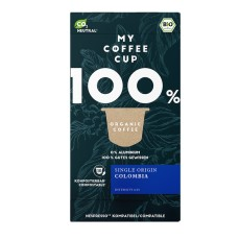 My-Cups Box Colombian Rainforest Caffè 10 Kapseln, Bio, Rainforest, 0% Alu