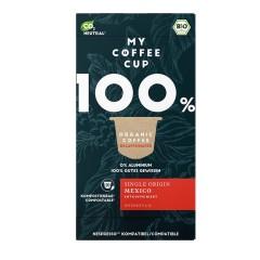 My-Cups Box Mexican Decaf entkoffeiniert 10 Kapseln, Bio, 0% Alu