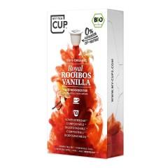 My-Cups Box Royal Rooibos Vanilla 10 Kapseln, Bio, 0% Alu