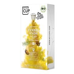 My-Cups Box Fennel Anise Elixir Kräutertee 10 Kapseln, Bio, 0% Alu