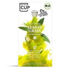 My-Cups Box Lemon Grass Kräutertee 10 Kapseln, Bio, 0% Alu