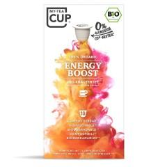 My-Cups Box Energy Boost Schwarzer Tee 10 Kapseln, Bio, 0% Alu