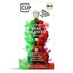 My-Cups Box Stay Balanced Kräutertee 10 Kapseln, Bio, 0% Alu