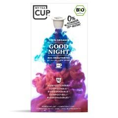 My-Cups Box Good Night Kräutertee 10 Kapseln, Bio, 0% Alu