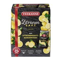 Teekanne Zitronensaft 100 x 4ml Portionsbeutel
