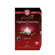 Teekanne Luxury Cup Highland Darjeeling 20 x 2g Teebeutel, Fairtrade, Rainforest Alliance