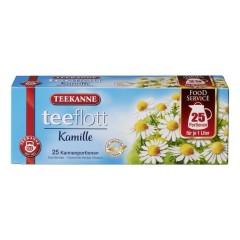 Teekanne teeflott Kamille Kräutertee  25 x 3,25g Kannenportionen