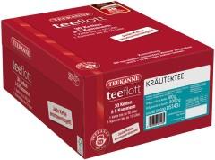 Teekanne teeflott Kräutertee 30 Filterketten à 5 Kammern