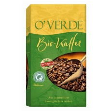 Röstfein OVerde Filterkaffee 500g Gemahlen, Bio Rainforest Alliance